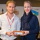 V.l.n.r.: Lucas Oostrom (AeroVinci), Jochem Wieringa (AeroVinci), Rolph Segers (UNIIQ) en Niels Westendorp, founder van de TUS Expo.