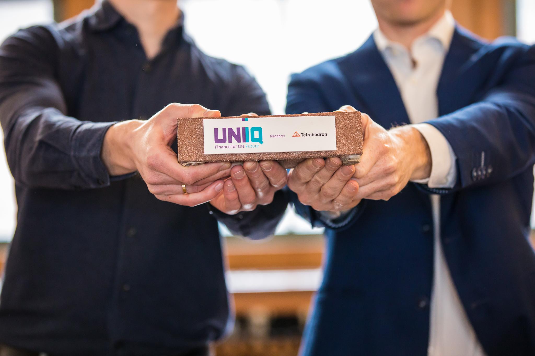 Tetrahedron ontvangt UNIIQ-investering
